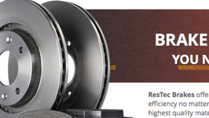 ResTec Brakes Website Thumbnail