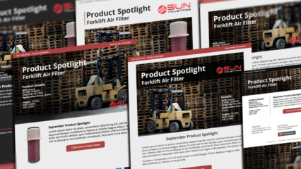 Product Spotlight E-mail Template Thumbnail