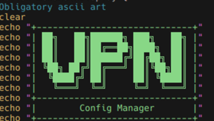 Bash: VPN Config Manager Thumbnail